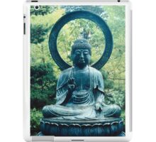 Buddha Sits in a Garden iPad Case/Skin
