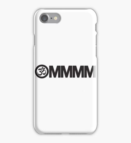 Yoga: Ommmm iPhone Case/Skin