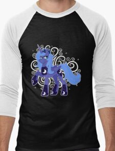 Rule 63 Princess Luna (Prince Artemis) Men's Baseball ¾ T-Shirt