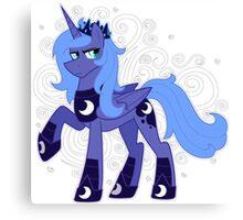 Rule 63 Princess Luna (Prince Artemis) Canvas Print