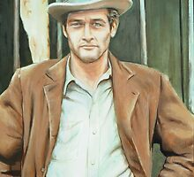 Paul Newman by kathy archbold