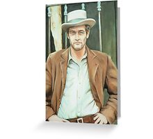 Paul Newman Greeting Card