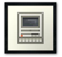 Pixel Mac SE Framed Print