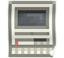 Pixel Mac SE Poster