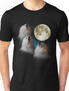 Gabe the Dog - Three Gabe Moon Unisex T-Shirt