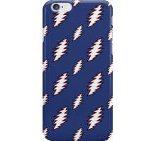 Grateful Dead Bolt Pattern iPhone Case/Skin