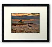 The Castle  Holy Island Framed Print