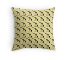 Giraffe Pattern Throw Pillow
