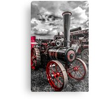 Foster Traction Engine Metal Print