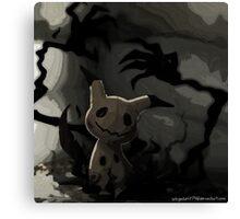 Mimikkyu Pokemon Canvas Print