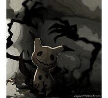Mimikkyu Pokemon Photographic Print