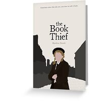 The Book Thief Greeting Card