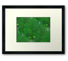Green Nature Framed Print