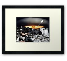 Keeping the Peace Framed Print