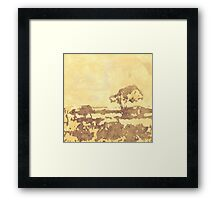 Savannah Sky Framed Print