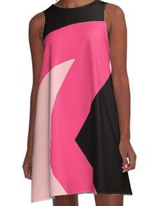 Steven Universe Garnet Chest Pattern A-Line Dress