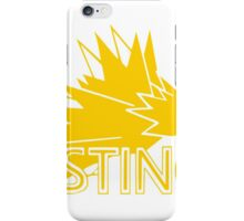 Stylized Team Instinct Print iPhone Case/Skin