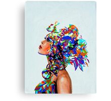 Mixing Reality Canvas Print