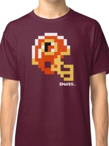 Tecmo Bowl - Washington - 8-bit - Mini Helmet shirt Classic T-Shirt