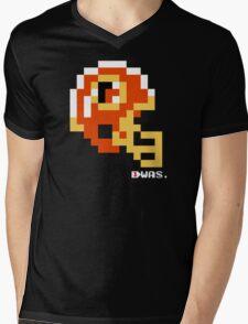 Tecmo Bowl - Washington Redskins - 8-bit - Mini Helmet shirt Mens V-Neck T-Shirt