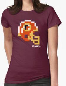 Tecmo Bowl - Washington - 8-bit - Mini Helmet shirt Womens Fitted T-Shirt
