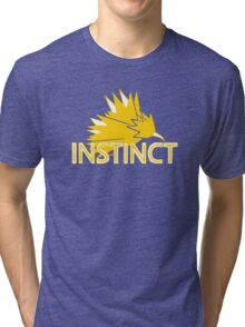 Stylized Team Instinct Print Tri-blend T-Shirt