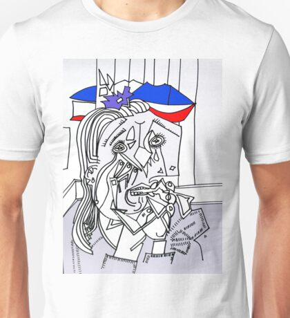 After Picasso - Bastille Day July 2016 Unisex T-Shirt