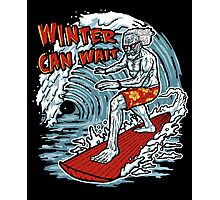 Winter Can Wait Photographic Print