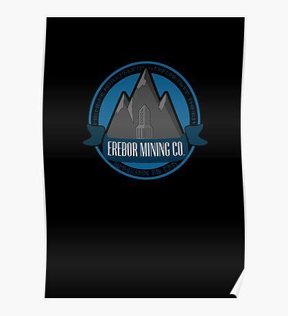Erebor Mining Company Poster