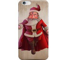 Santa Claus Super Hero iPhone Case/Skin