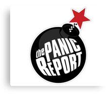 the Panic Report Canvas Print