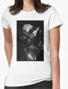 St. Vincent B&W Womens Fitted T-Shirt