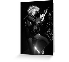 St. Vincent B&W Greeting Card