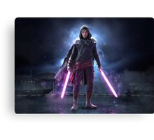 Onoro Zarezsh, The Grey Jedi Canvas Print