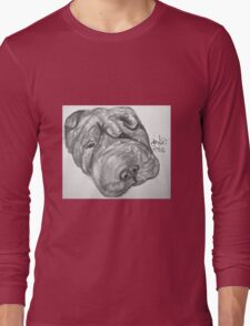 Whirley the dog Long Sleeve T-Shirt