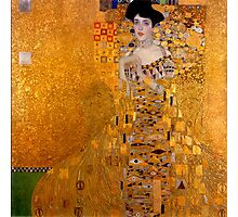 Gustav Klimt Adele Bloch Bauer reproduction Photographic Print
