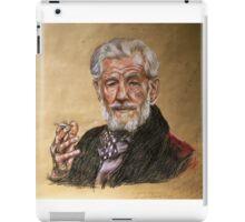 Sir Ian McKellen  iPad Case/Skin