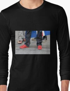 Red Shoes Long Sleeve T-Shirt
