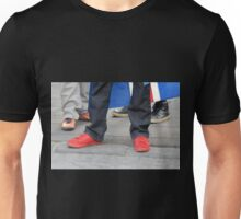Red Shoes Unisex T-Shirt