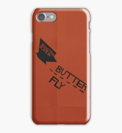 HYYH pt.2 x Saul Bass - Butterfly iPhone Case/Skin