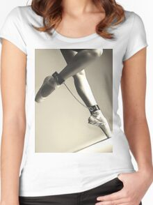 BDSM love - dance for me #2 Women's Fitted Scoop T-Shirt