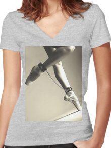 BDSM love - dance for me #2 Women's Fitted V-Neck T-Shirt