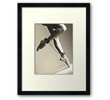 BDSM love - dance for me #2 Framed Print