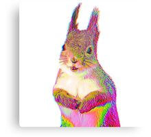 Psychedelic Squirrel Metal Print