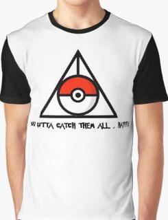 Catch'Em All, Harry. Graphic T-Shirt