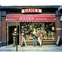Hanks Acoustics Photographic Print