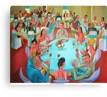 Fiesta por Diego Manuel Canvas Print