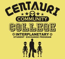 Geek Sci-Fi Alien Community College Student Exchange by TropicalToad