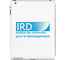 French Research Institute for Development (Institut de Recherche pour le Développement iPad Case/Skin