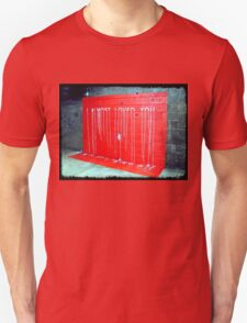 I Almost Loved You - dripping paint on wall Unisex T-Shirt